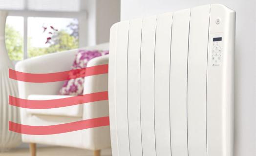 Les radiateurs à inertie / chaleur douce Tresco