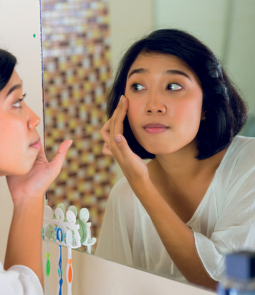 Film anti-buée pour miroir