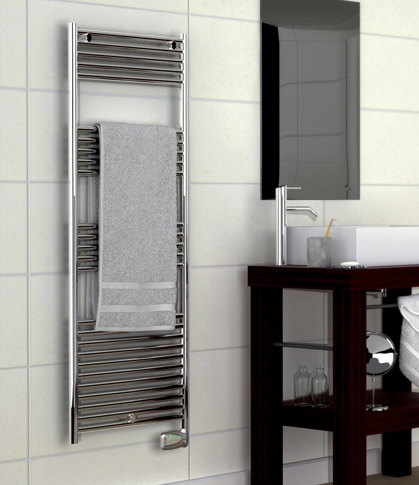 Radiateur sèche-serviettes Habana II Chromé