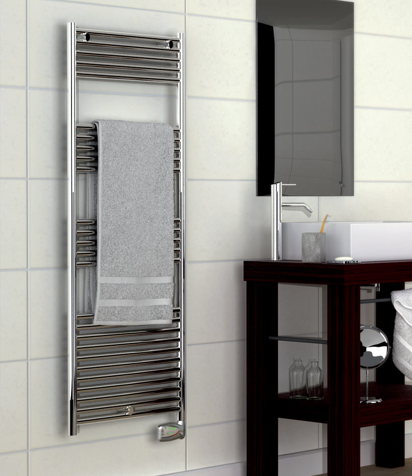 radiateur s che serviettes habana ii chrom tresco. Black Bedroom Furniture Sets. Home Design Ideas